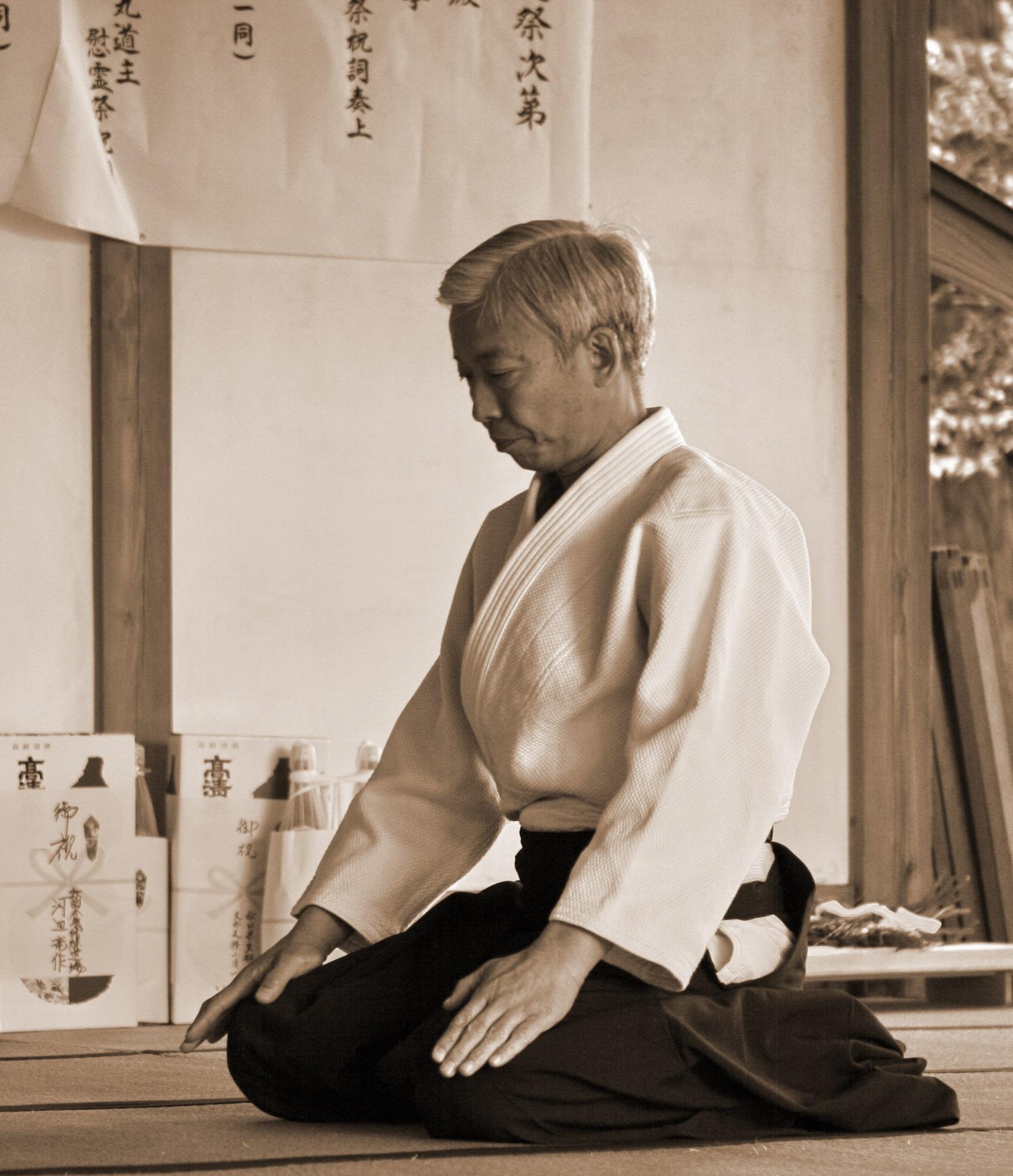 Shoyukan Aikikai France - Doshu Iwama 2007