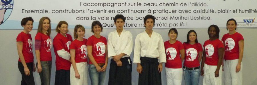 Shoyukan Aikikai France - Groupe des filles